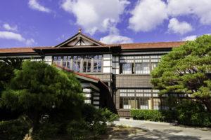 旧萩藩校 明倫学舎本館