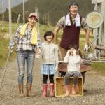 田舎暮らしの家族