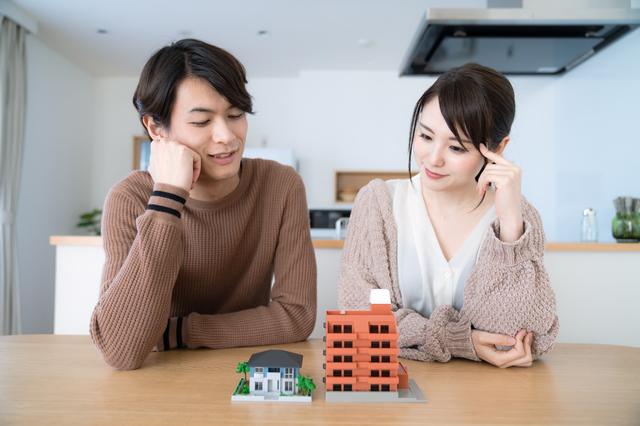 マンションと一戸建て比較