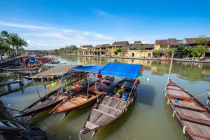 ベトナム ホイアンの古い町並み