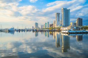 フィリピン・マニラ 都市風景