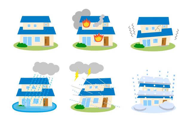 住宅 災害保険 セット