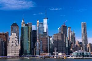《ニューヨーク》マンハッタンの眺め・ブルックリンハイツプロムナード