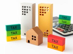 税金 TAX 不動産