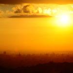夕陽 西日